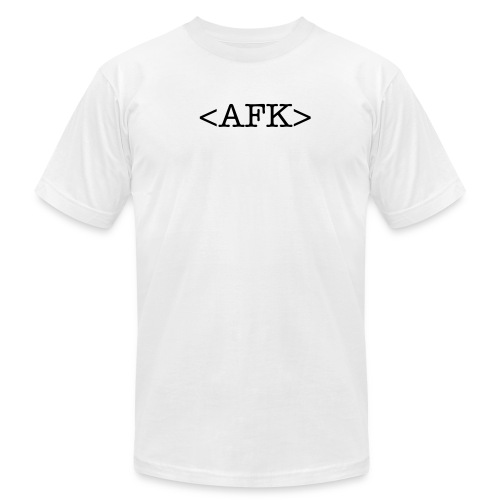AFK - Men's Fine Jersey T-Shirt