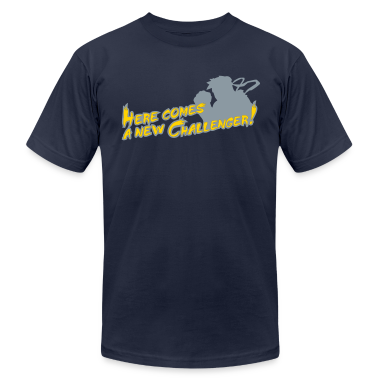 Navy Here comes a new challenger! T-Shirts