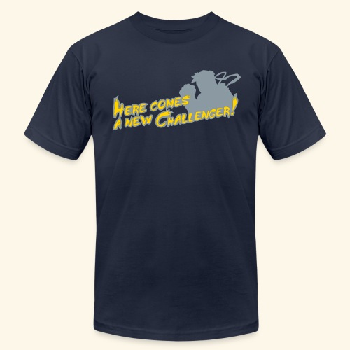Here comes a new challenger! - Men's Fine Jersey T-Shirt