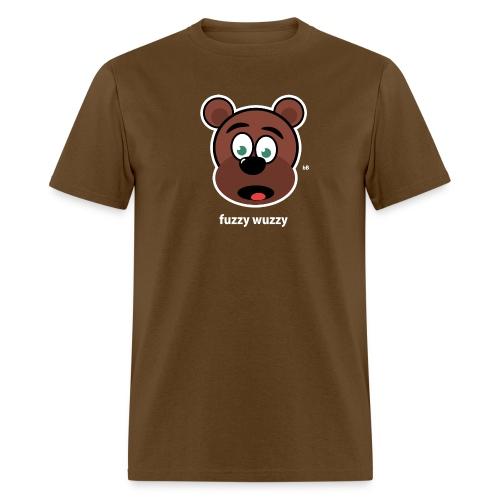 Fuzzy Wuzzy Brown - Men's T-Shirt