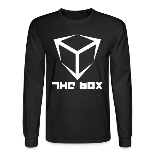 The Box Logo Longsleeve (flex print) - Men's Long Sleeve T-Shirt