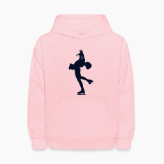 Pink ice skating Sweatshirts