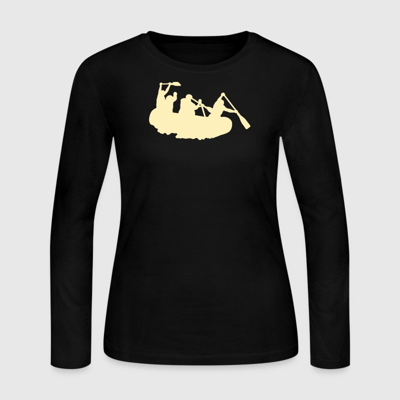 Chocolate rafting Long sleeve shirts - Women's Long Sleeve Jersey T-Shirt