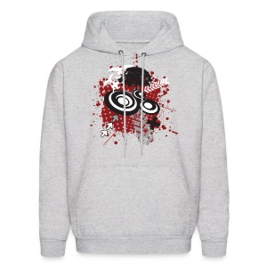 Speaker Collage Designer Hoodies - Men's Hoodie