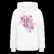 Hoodies ~ Women's Hoodie ~ Womens Designer Circles, Cool hoodie