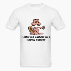 Funny Shaved Beaver Shirt