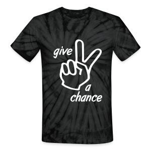 Peace a chance - Unisex Tie Dye T-Shirt