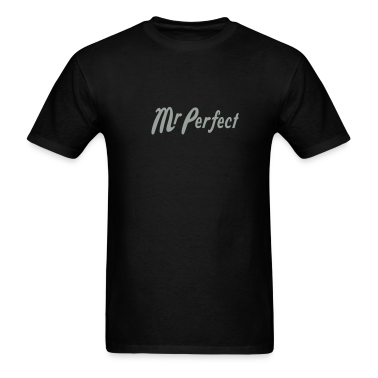 Black Mr Perfect T-Shirts