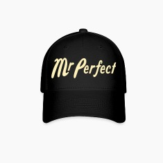 Black Mr Perfect Caps