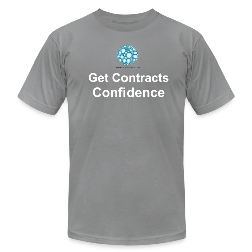 Get Contracts Confidence - Men's  Jersey T-Shirt