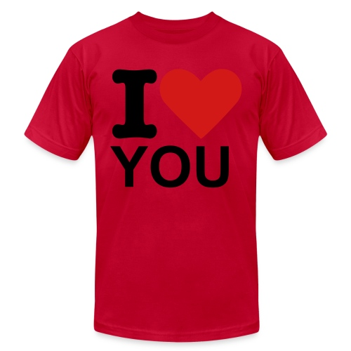 I heart - Men's Fine Jersey T-Shirt