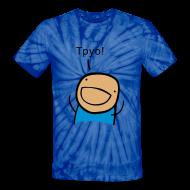 T-Shirts ~ Unisex Tie Dye T-Shirt ~ TPYO - unisex tie-dye