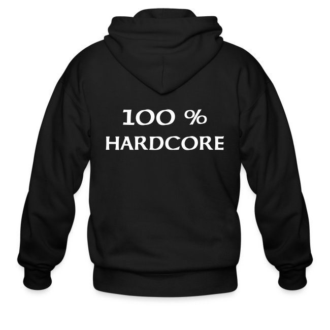 100 % hardcore back and front
