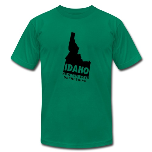 Idaho.  Now 37% Less Depressing. - Men's  Jersey T-Shirt