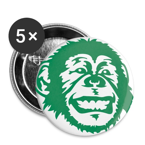 AE Monkey Buttons - Buttons large 2.2'' (5-pack)