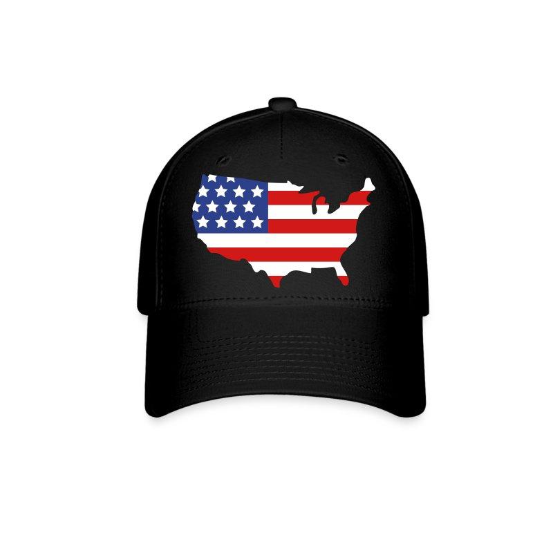 usa baseball cap spreadshirt