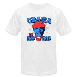 Obama is Hip Hop - Men's Fine Jersey T-Shirt