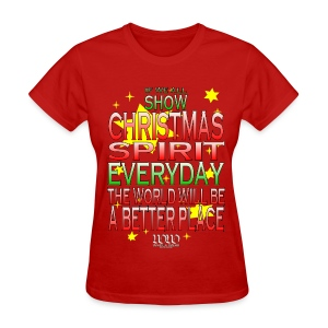Christmas Spirit - Women's T-Shirt