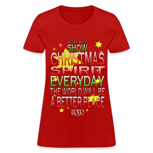 Christmas Spirit - Women's T-Shirt