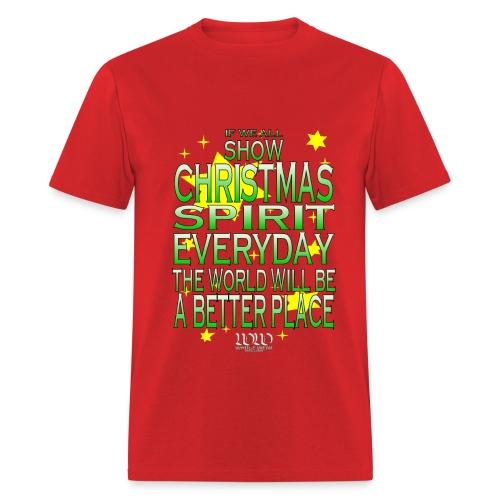 Christmas Spirit - Men's T-Shirt