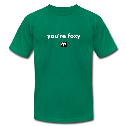 You're Foxy (Male Version of Foxy Lady) - Men's Fine Jersey T-Shirt