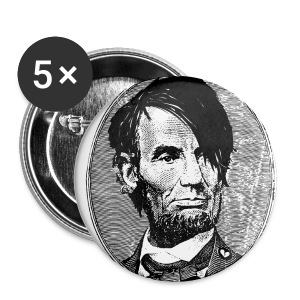 Emo Lincoln Pin 5 Pack - Small Buttons