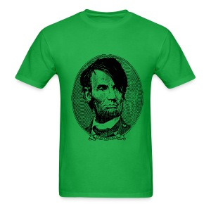 Emo Lincoln (Guy's Green) - Men's T-Shirt