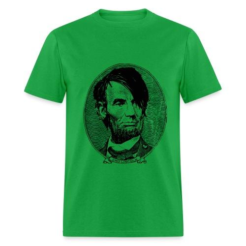 Emo Lincoln (Guy's Green) - Men's T-Shirt