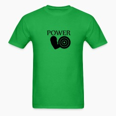 Bright green Power - Bodybuilding T-Shirts
