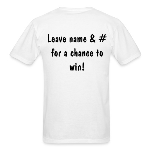 Win Me White - Men's T-Shirt