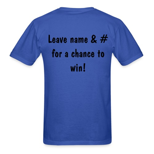 Win Me Blue - Men's T-Shirt