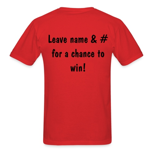 Win Me Red - Men's T-Shirt