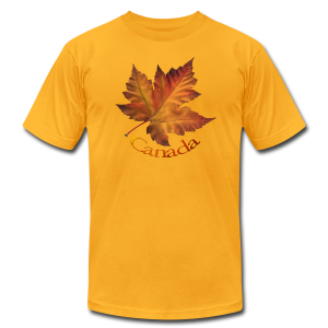 Canada Souvenir Men's T-Shirts Maple Leaf Shirts - Men's T-Shirt by American Apparel