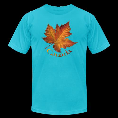 Canada Souvenir Men's T-Shirts Maple Leaf Shirts - Men's Fine Jersey T-Shirt