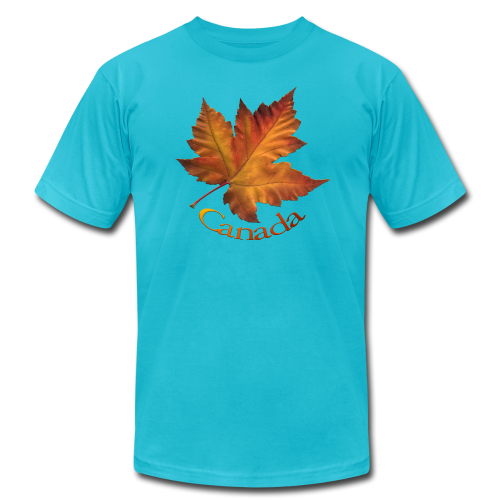 Canada Souvenir Men's T-Shirts Maple Leaf Shirts - Men's Fine Jersey T-Shirt