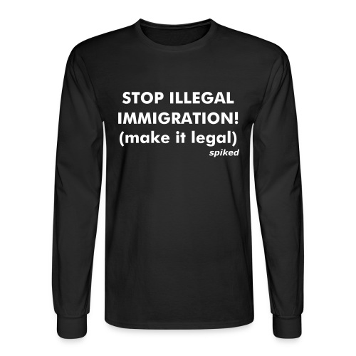 Make immigration legal - long sleeve - Men's Long Sleeve T-Shirt