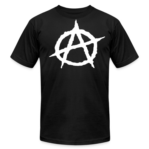 Anarchy - Men's Fine Jersey T-Shirt
