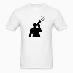 White Demonstrator T-Shirts