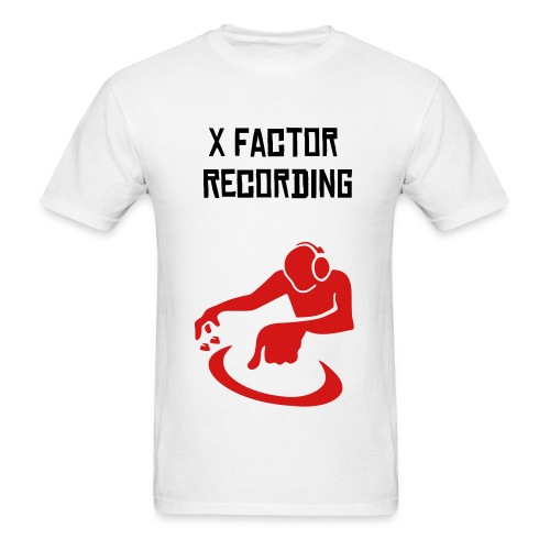 X Factor Red DJ T-shirt - Men's T-Shirt