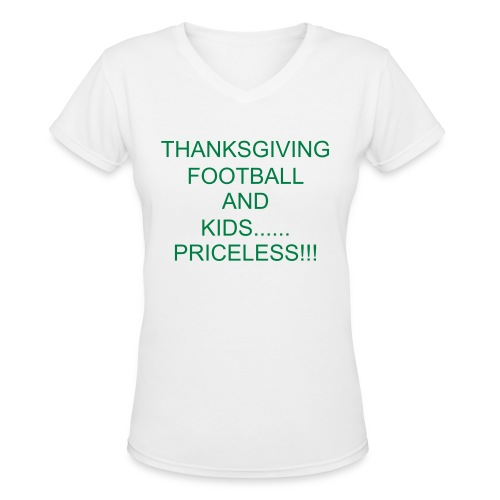 THANKSGIVING - Women's V-Neck T-Shirt
