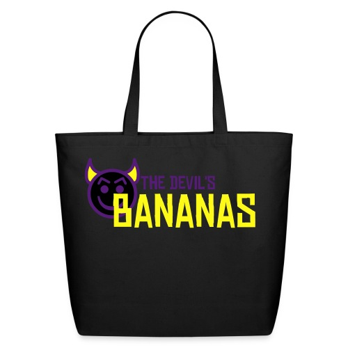 DB Tote Bag (large, black) - Eco-Friendly Cotton Tote