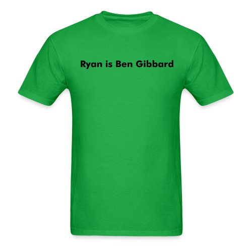 Ryan is Ben Gibbard. - Men's T-Shirt