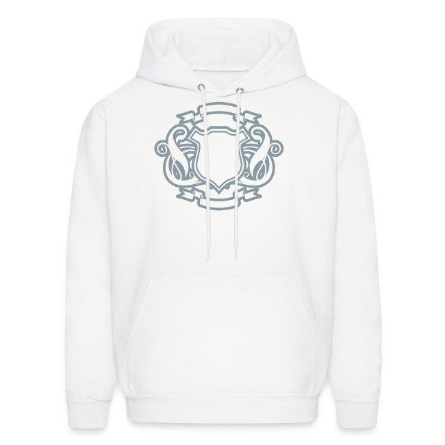 3c8915a9 Vintage Designer Tshirts.com   Custom Letter Shield Design Hoodie ...