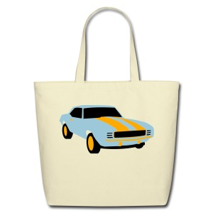 Cool Car - Eco-Friendly Cotton Tote