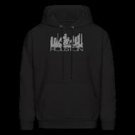 Hoodies ~ Men's Hoodie ~ HOUSTON TEXAS