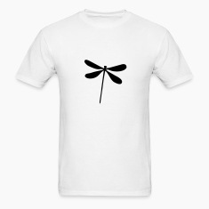 White Dragonfly T-Shirts
