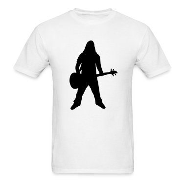 White Bass - Bassist - Metal - Rock T-Shirts