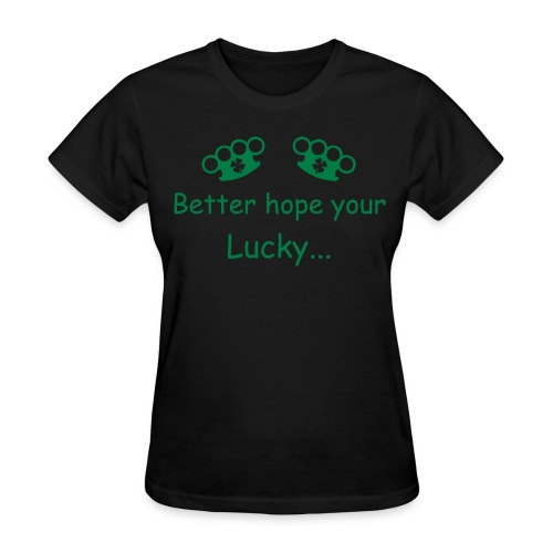 4 leaf Clovers - Women's T-Shirt