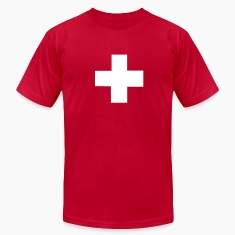 Red Swiss T-Shirts