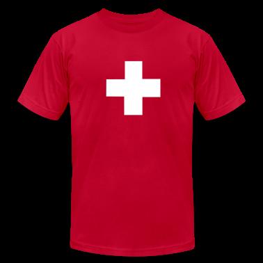 Red Swiss T-Shirts